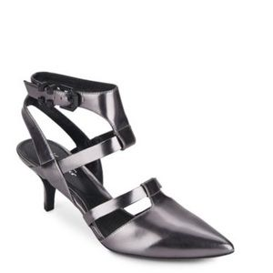 •Kenneth Cole• Pence Metallic Leather Pump